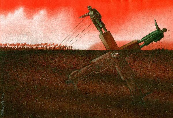 Pawel_Kuczynski_ilustraciones_criticas_ironicas_14