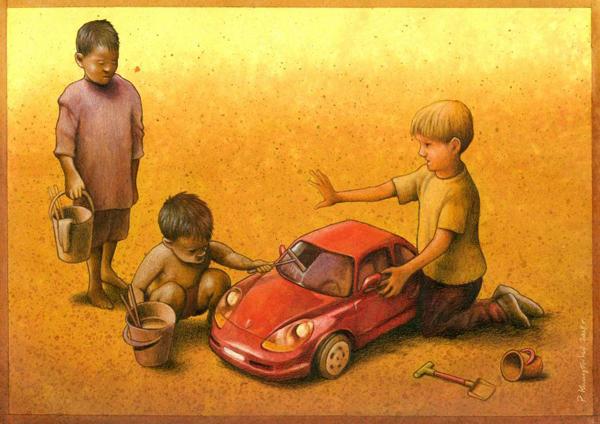 Pawel_Kuczynski_ilustraciones_criticas_ironicas_25