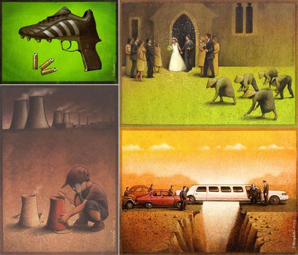 Pawel_Kuczynski_ilustraciones_criticas_ironicas_varias