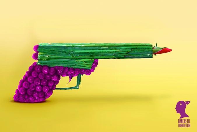 dan_cretu_arte_comida_escultura_coloridas_fotos_pistola