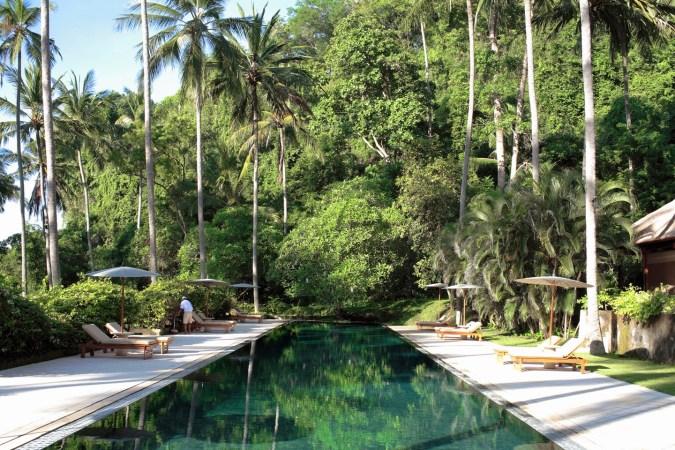 Fotos de las mejores piscinas del mundo - Bali, Indonesia