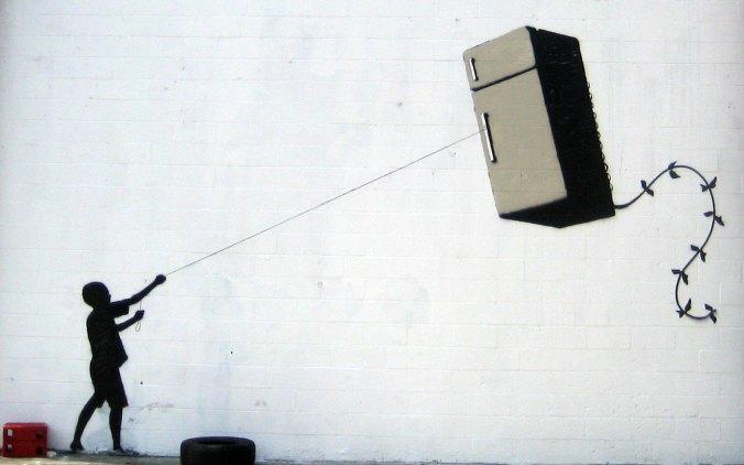 banksy-grafitti_nino_globo_nevera_frigorifico