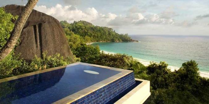 Fotos de las mejores piscinas del mundo - Banyan Tree Seychelles