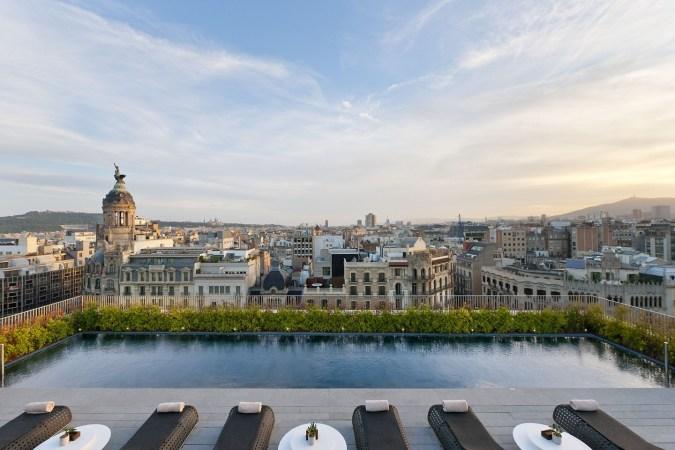 Fotos de las mejores piscinas del mundo - Mandarin Oriental, Barcelona, España