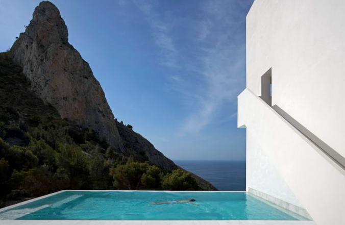 Fotos de las mejores piscinas del mundo - Calpe, Alicante, España
