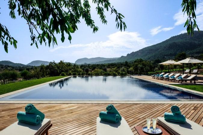 Fotos de las mejores piscinas del mundo - Castell Son Claret, Mallorca