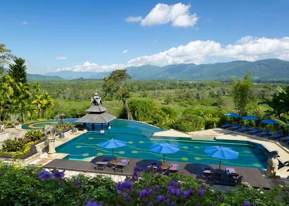 Fotos de las mejores piscinas del mundo - Golden Triangle Anantana Tailandia
