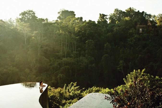 Fotos de las mejores piscinas del mundo - Hanging Garden Ubud Indonesia