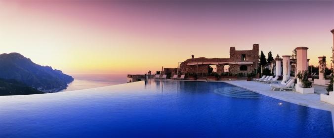 Fotos de las mejores piscinas del mundo - Hotel Caruso, Italia