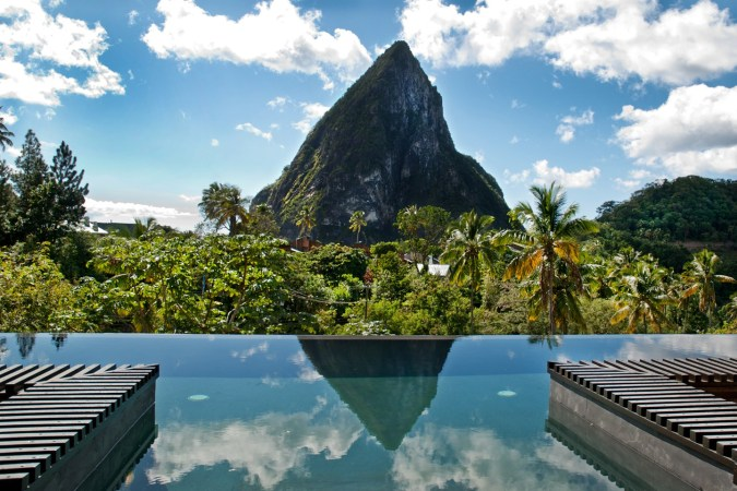 Fotos de las mejores piscinas del mundo - The Chocolat, Santa Lucía