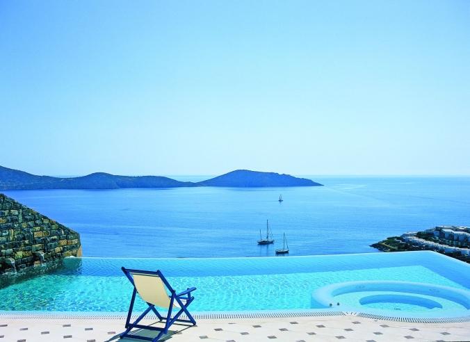 Fotos de las mejores piscinas del mundo - Elounda Villas, Creta, Islas Griegas