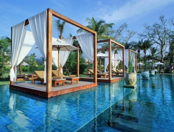 Fotos de las mejores piscinas del mundo - The Sarojin, Tailandia
