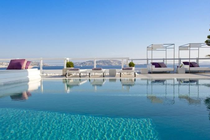 Fotos de las mejores piscinas del mundo - Mykonos, Islas Griegas