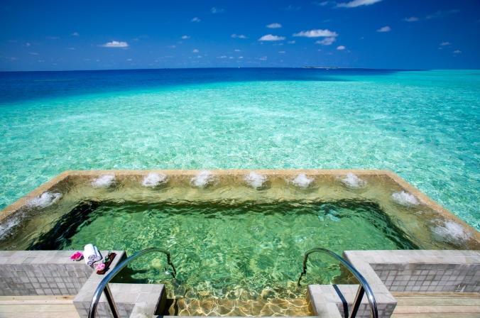 Fotos de las mejores piscinas del mundo - Velassaru, Maldivas
