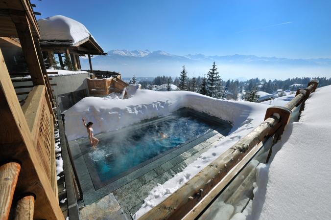 Fotos de las mejores piscinas del mundo - Lecrans Suiza