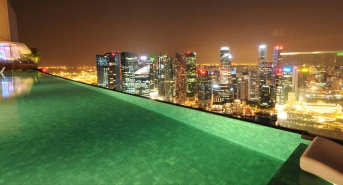 Fotos de las mejores piscinas del mundo - Marina Bay Sands, Singapur