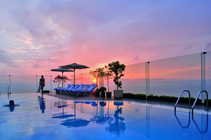 Fotos de las mejores piscinas del mundo - Miraflores Park, Lima, Perú