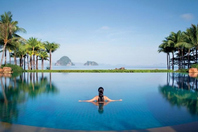 Fotos de las mejores piscinas del mundo - Phulay Bay Tailandia