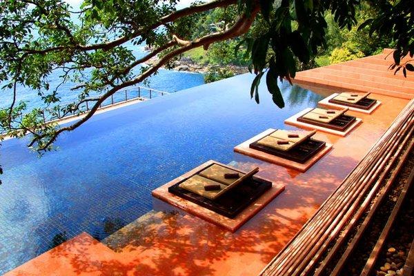 Fotos de las mejores piscinas del mundo - Paresa Resorts. Tailandia