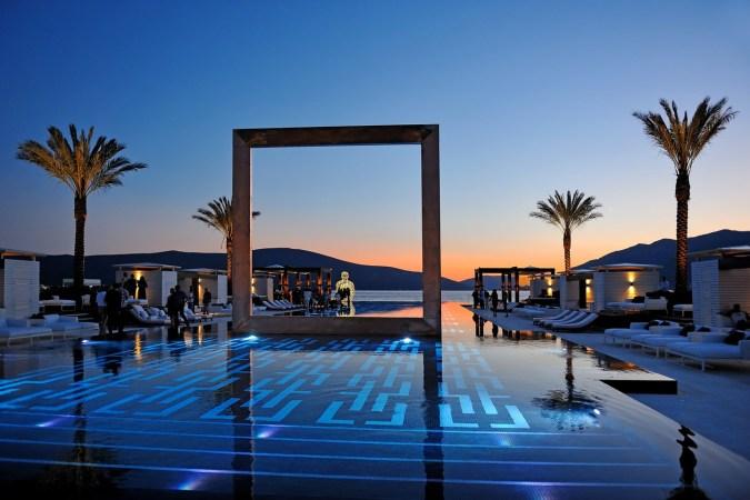 Fotos de las mejores piscinas del mundo - Puro Beach, Montenegro