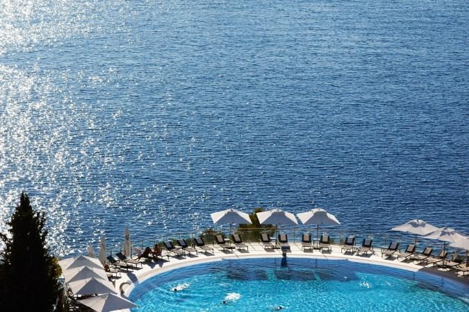 Fotos de las mejores piscinas del mundo - Sun Gardens, Dubrovnik, Croatia
