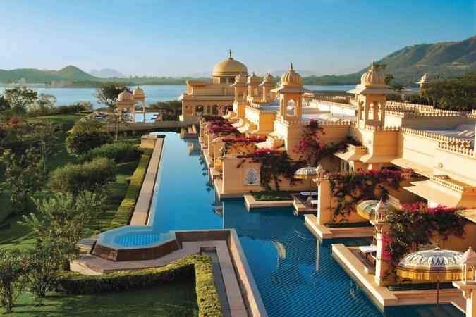Fotos de las mejores piscinas del mundo - The Oberoi Udaivilas Idaipur