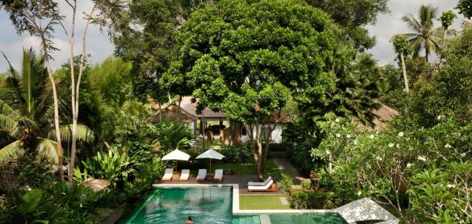 Fotos de las mejores piscinas del mundo - Como Ubud Bal Indonesia