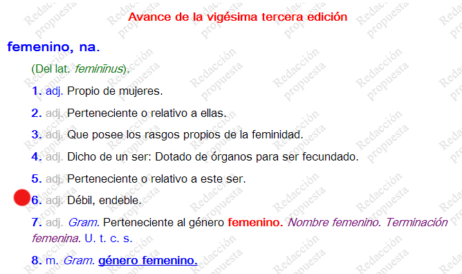 femenino_diccionario_rae