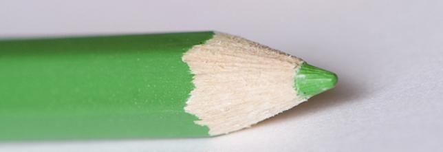 colored pencil closeup