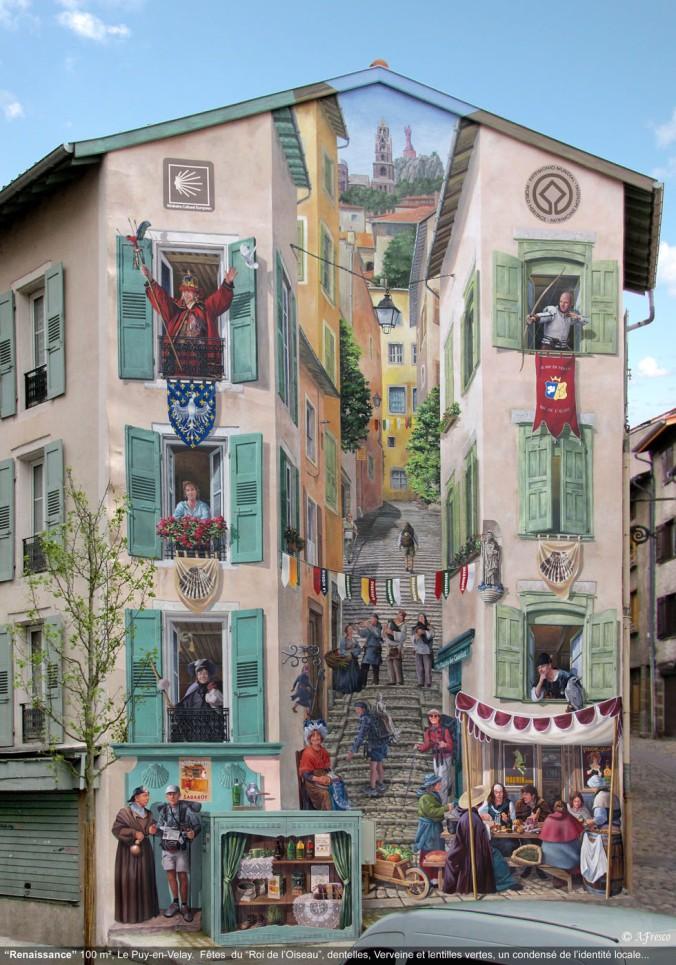 pinturas_realistas_muros_Patrick Commecy_fresco_11