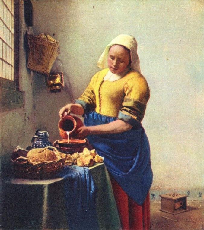 Cuadro_la_lechera_ Johannes_Vermeer