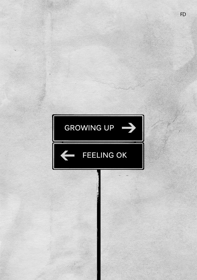 De un lado, sentirse bien; del contrario, crecer.